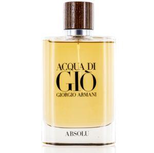 Acqua Di Gio Absolu For Men By Giorgio Armani Eau De Parfum