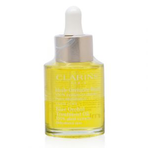 Clarins Blue Orchid  Face Treatment Oil 1.0 Oz  For Dehydrated Skin