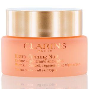 Clarins Extra-Firming Wrinkle Control Regenerating Night Cream 1.6 OZ