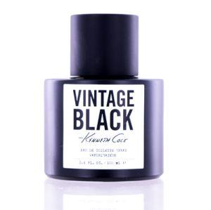 Kenneth Cole Vintage Black For Men Eau De Toilette 3.4 OZ