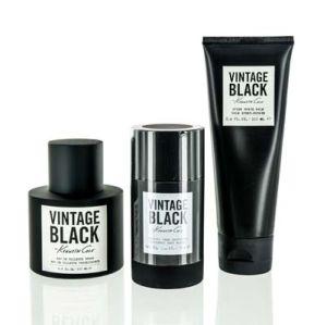Kenneth Cole Vintage Black For Men 3 Piece Gift Set