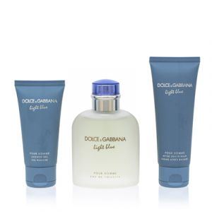 Light Blue Pour Homme For Men 3 Piece Gift Set