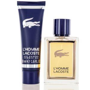 Lacoste L'Homme For Men 2 Piece Gift Set