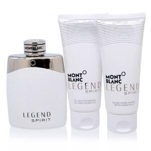 Montblanc Legend Spirit For Men 3 Piece Gift Set