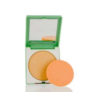 Clinique/Super Powder Double Face Makeup 07 Matte Neutral .35 Oz