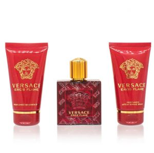 Versace Eros Flame For Men 3 Piece Gift Set