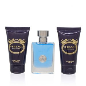 Versace Signature Homme For Men 3 Piece Gift Set