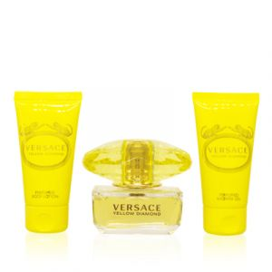Versace Yellow Diamond For Women 3 Piece Gift Set